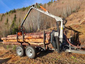 Tømmerhenger BMF 7T1 4,3m
