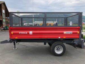 MF T703A, 3,8 tonner 3-veis tipp