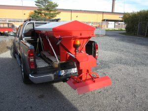 Sandspredere PS700 og PS1000 for personbil/pickup
