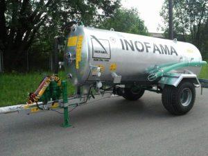 Inofama CPA60A, 6000 liter vacumvogn